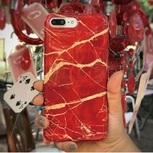 Chrome Marble iPhone 6/6+/7/7+/8/8+/X case